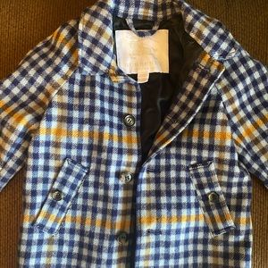 Burberry wool peacoat size 12 months